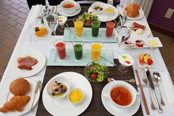 湯布院旅館預約早餐