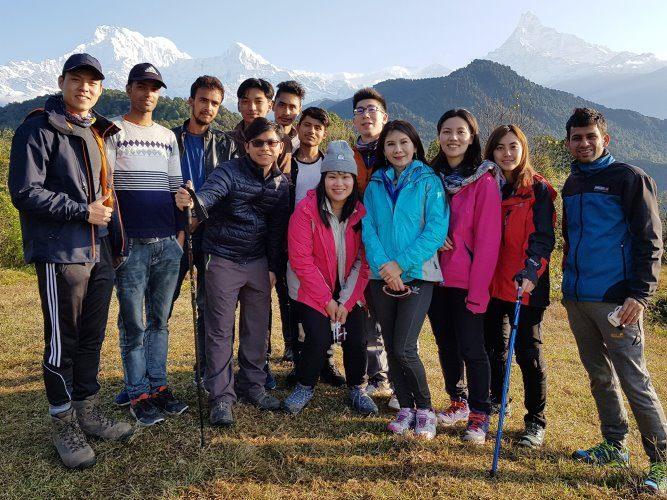 尼泊爾健行
